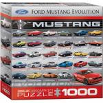 Puzzle 1000 piese Evolutie Ford Mustang