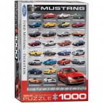 Puzzle 1000 piese Ford Mustang Evolution