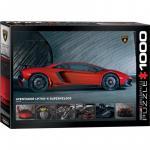 Puzzle 1000 piese Lamborghini Aventador LP750-4 Superveloce