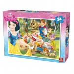 Puzzle 24 piese Snowhite