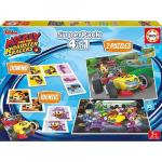 Puzzle 4 in 1 The SuperPack Mickey and the Roadster Racer 2 x 25 piese