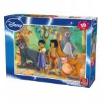 Puzzle 50 piese Jungle Book