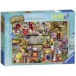 Puzzle Dulap jucarii 1000 piese