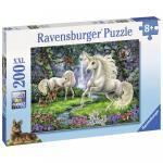 Puzzle Unicornii mistici 200 piese