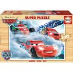 Puzzle din lemn Cars 100 piese
