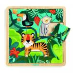 Puzzle lemn Jungla Djeco