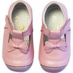 Pantofi Rose et Chocolat Classic Bow Pink 21