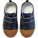 Pantofi Rose et Chocolat Classic Navy Brown 21