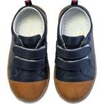 Pantofi Rose et Chocolat Classic Navy Brown 22