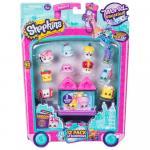 Shopkins pachet 12 figurine colectia Europa Pink