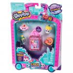 Shopkins pachet 5 figurine colectia Europa Pink
