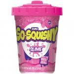 Slime So-Squishy in cutie mare Roz cu Sclipici