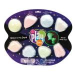 Spuma de modelat reflectorizanta Playfoam - set 8 buc