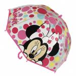 Umbrela manuala transparenta copii Minnie