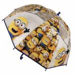 Umbrela transparenta copii Minions Grup