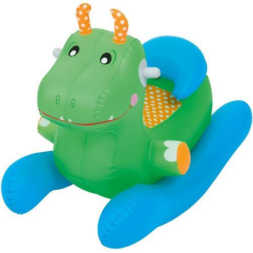 Balansoar gonflabil verde
