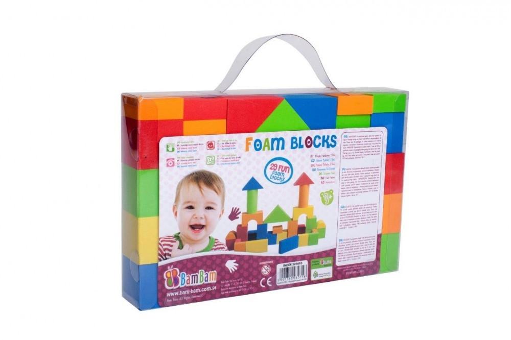 Set 29 cuburi moi pentru constructie BamBam