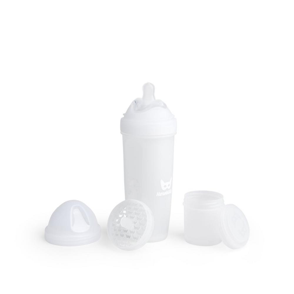 Biberon anticolici HeroBottle 340 ml alb