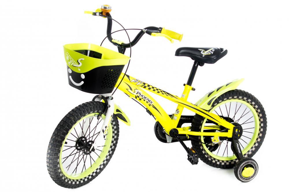 Bicicleta 16 inch Phoenix Yellow
