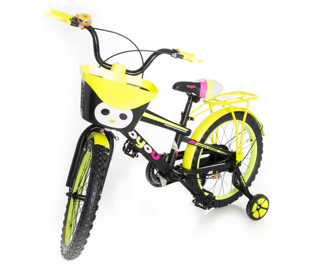 Bicicleta 18 inch To You Pink Yellow
