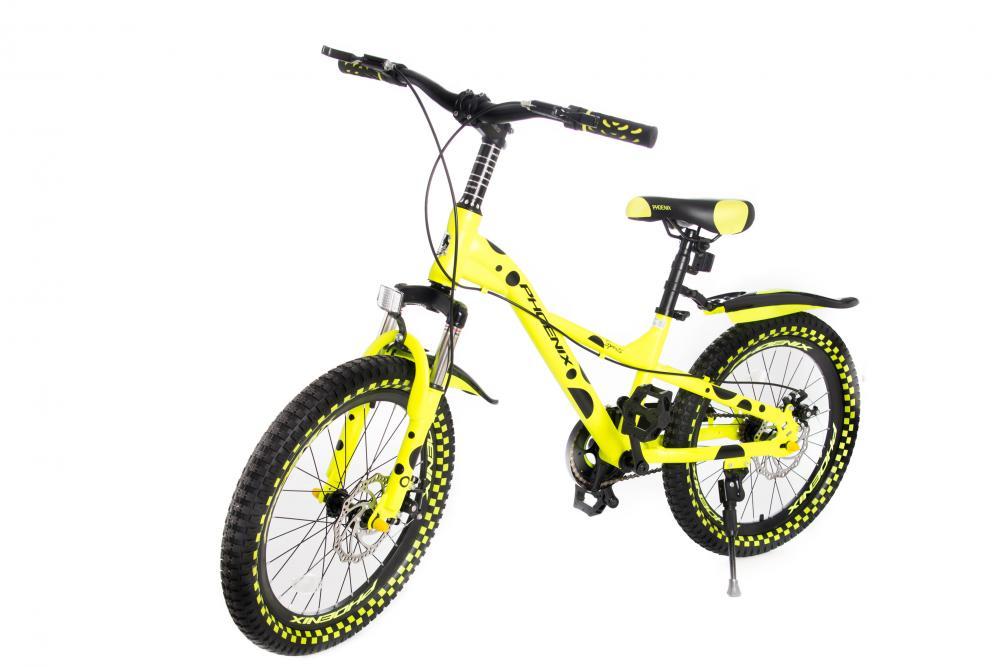 Bicicleta 20 inch Phoenix Sports Yellow