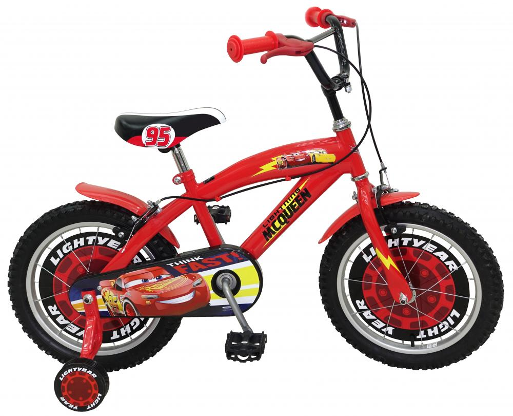 Bicicleta Stamp Cars 16