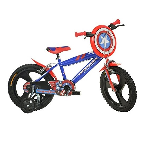 Bicicleta copii 16 Capitan America imagine
