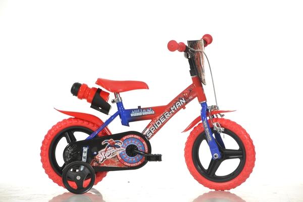 Bicicleta copii Spider-Man diametru 12 inch