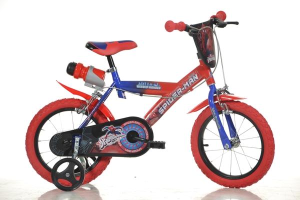 Bicicleta copii Spider-Man diametru 14 inch