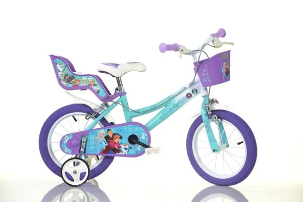 Bicicleta pentru fetite Frozen 16 inch