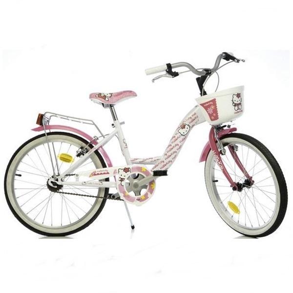 Bicicleta pentru fetite Hello Kitty 20