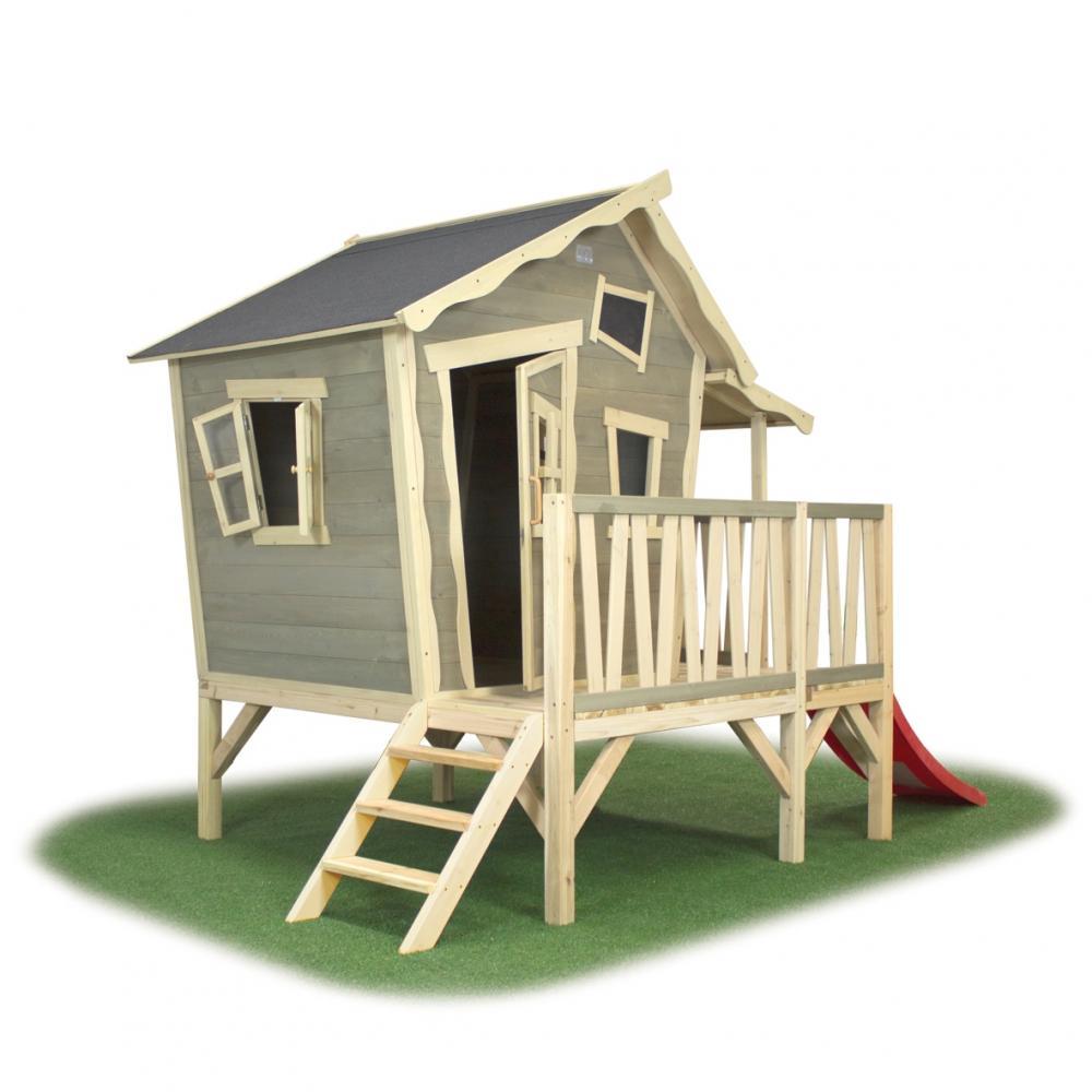 Casuta exterior pentru copii lemn EXIT Crooky 350