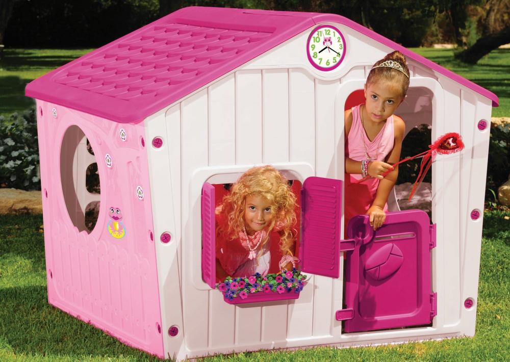 Casuta Pentru Copii Galilee Village House Pink
