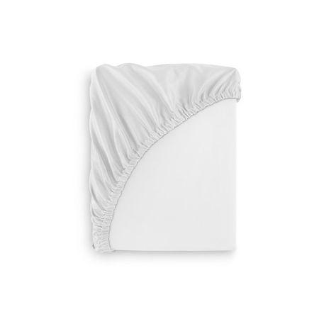 Cearceaf impermeabil pentru saltea 120×60 cm Alb