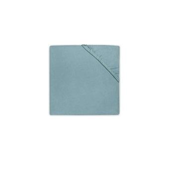 Cearsaf verde pentru pat bebe 75 x 150 cm Jollein