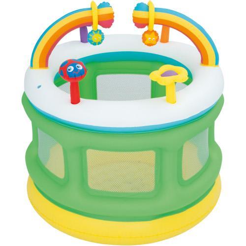 Centru de joaca gonflabil tip tarc pentru copii 109 x 104 cm imagine