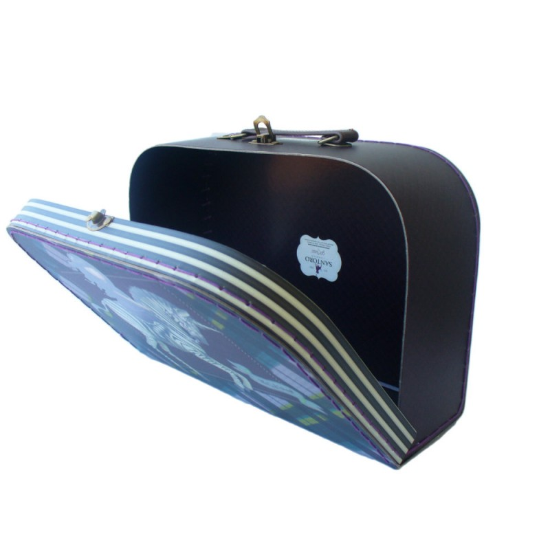 Cutie depozitare tip valiza mare Gorjuss The Dark Streak imagine