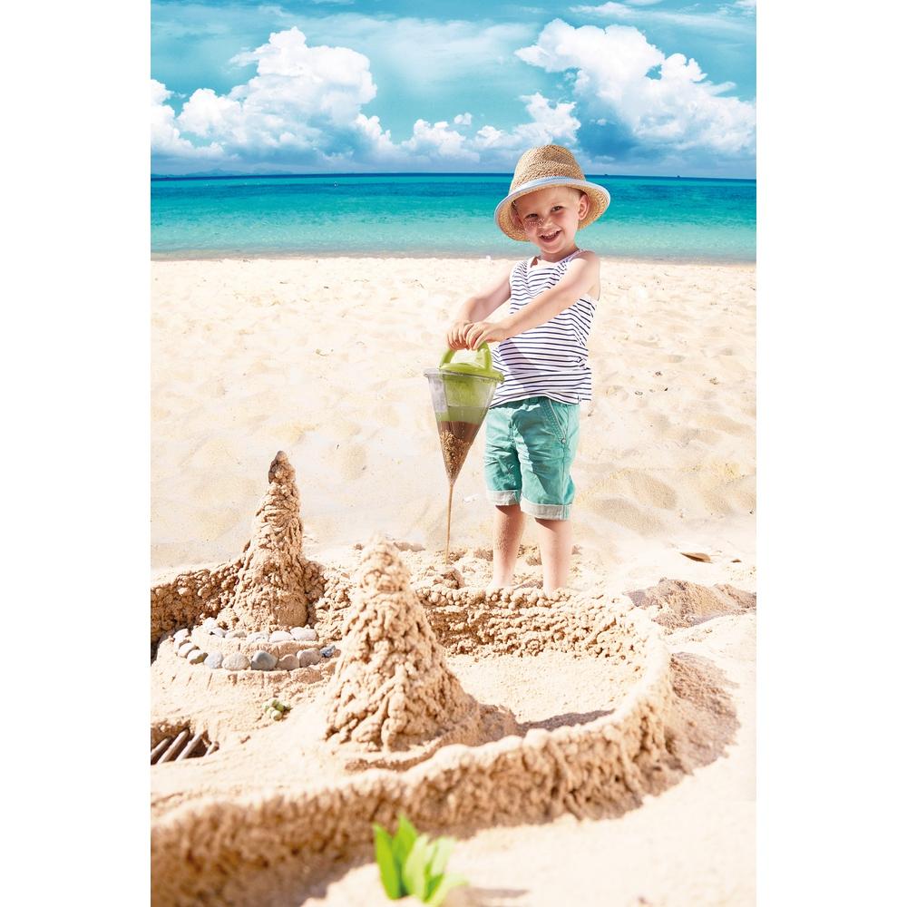 Jucarie pentru plaja pentru copii XXL Haba verde 3ani+