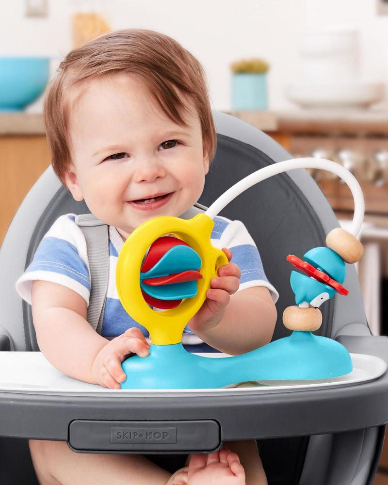 Jucarie scaun masa bebe sau carut Skip Hop Bead Mover