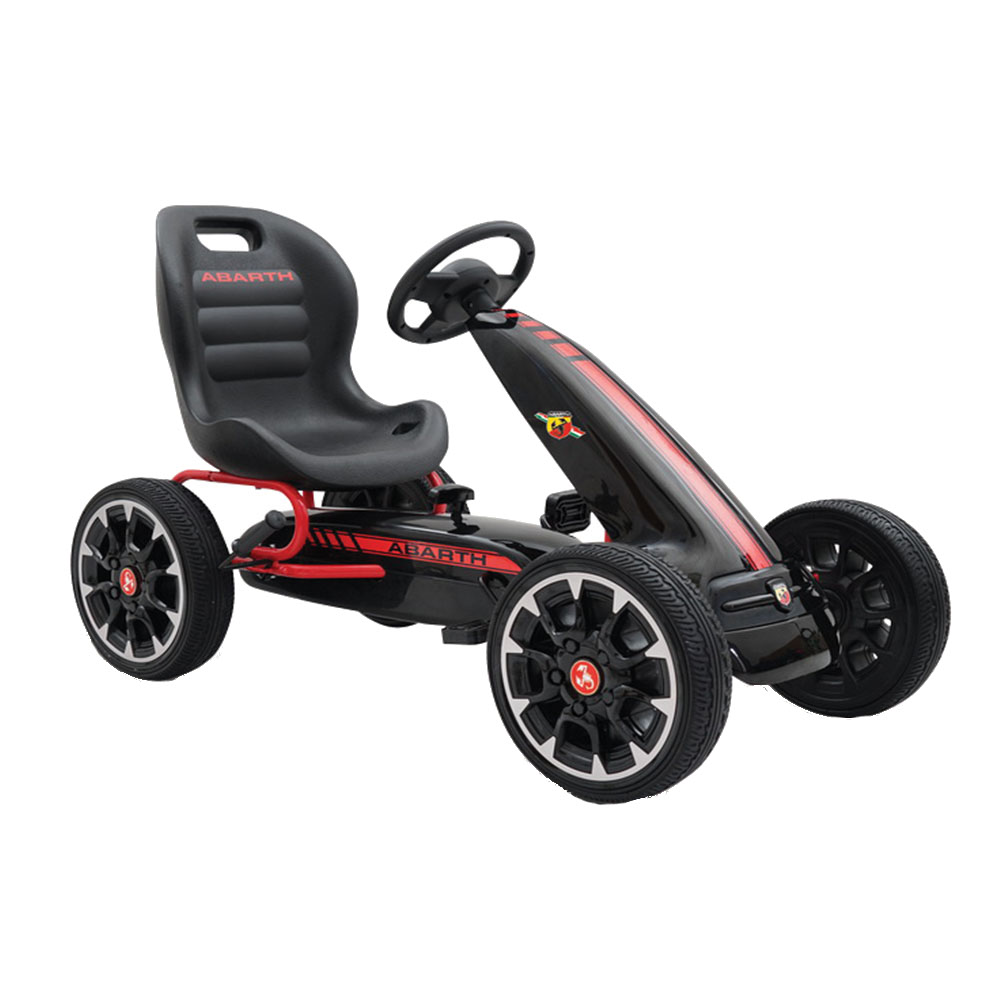 Kart Cu Pedale Abarth 500 Assetto Black