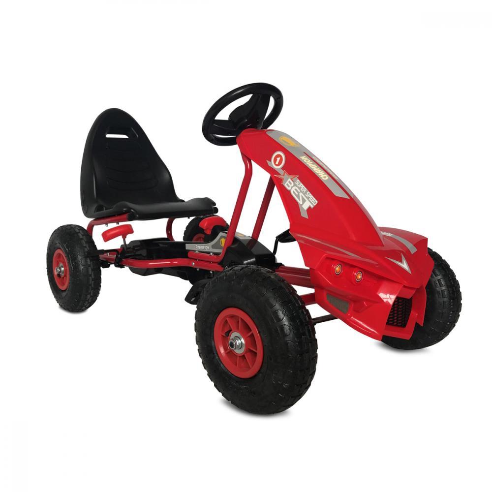 Kart cu pedale Go Kart The Best Red imagine