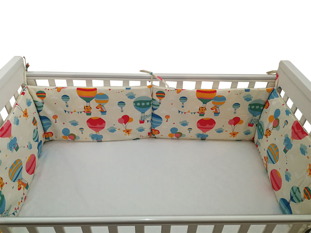 Lenjerie patut bebe cu 5 piese Balonase 120 x 60 cm