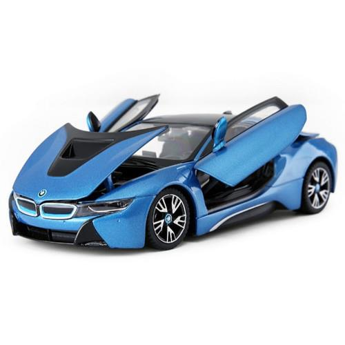 Masinuta BMW i8 scara 1:24 Albastru