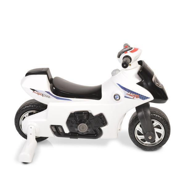 Motocicleta Balance Motor First Step Alb