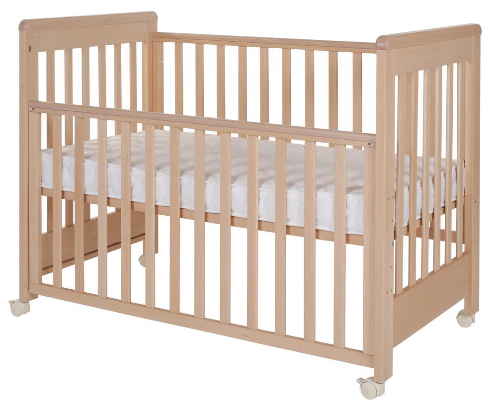 Patut bebelusi lemn culoare natural Treppy Dreamy Plus 2 din categoria Camera copilului de la Treppy