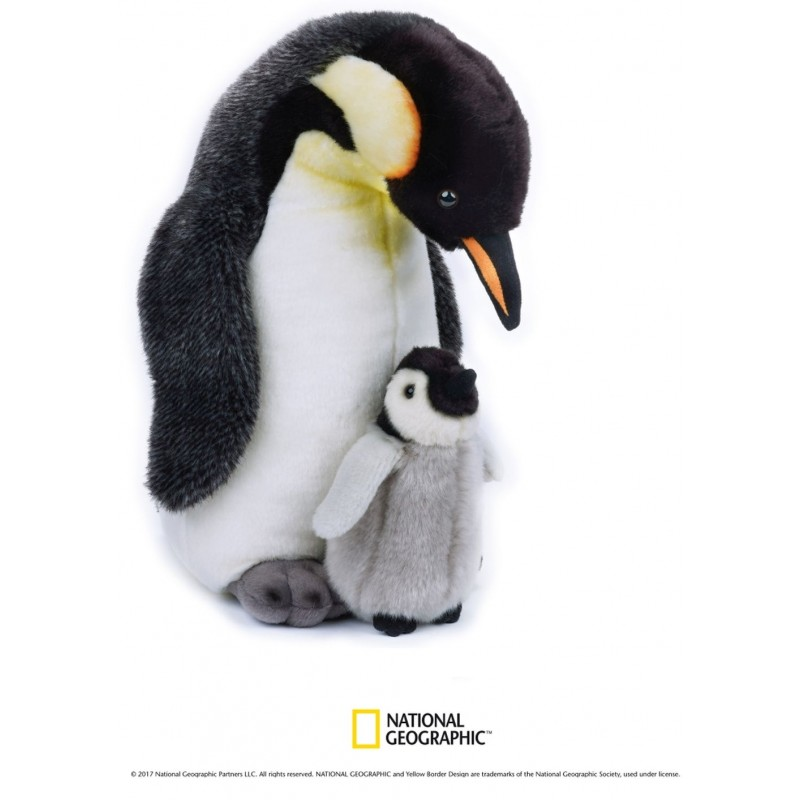 Plus NG Pinguin cu pui 35 cm