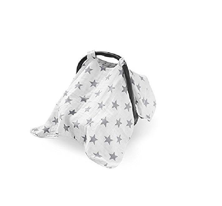 Protectie soare bebelusi pentru scoica Jollein Little star imagine