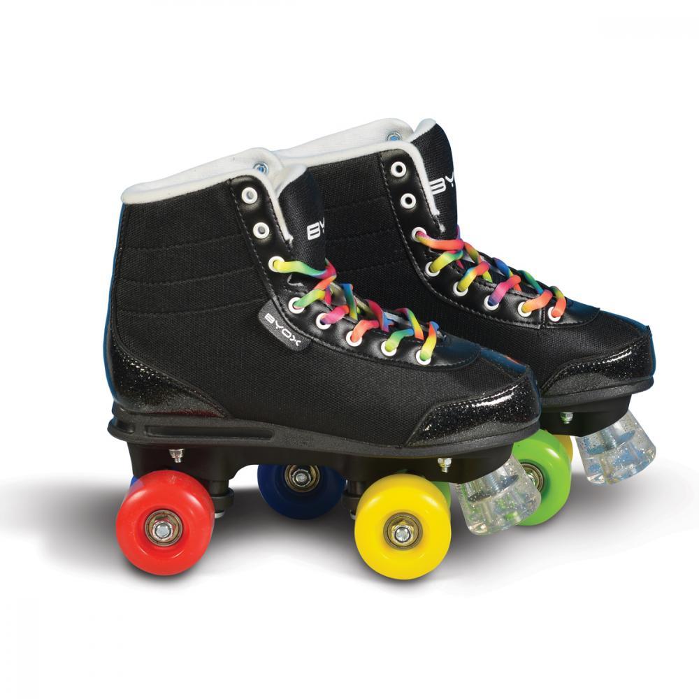 Patine cu rotile pentru copii Rainbow M 34-35