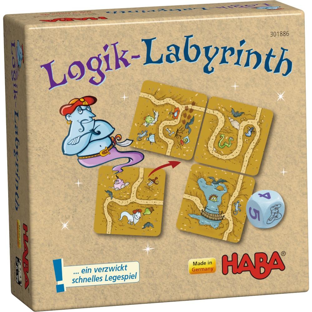 Puzzle Haba Labirintul magic 6luni+