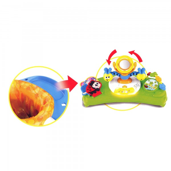 Scaunel bebelus Winfun centru activitati cu antepremergator